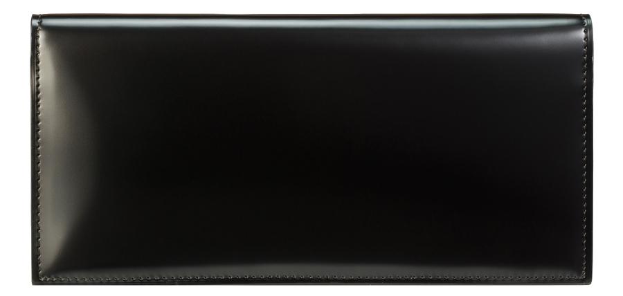 圧倒的な機能性と洗練されたフォルム。最高級のコードバンが演出する王道の長財布