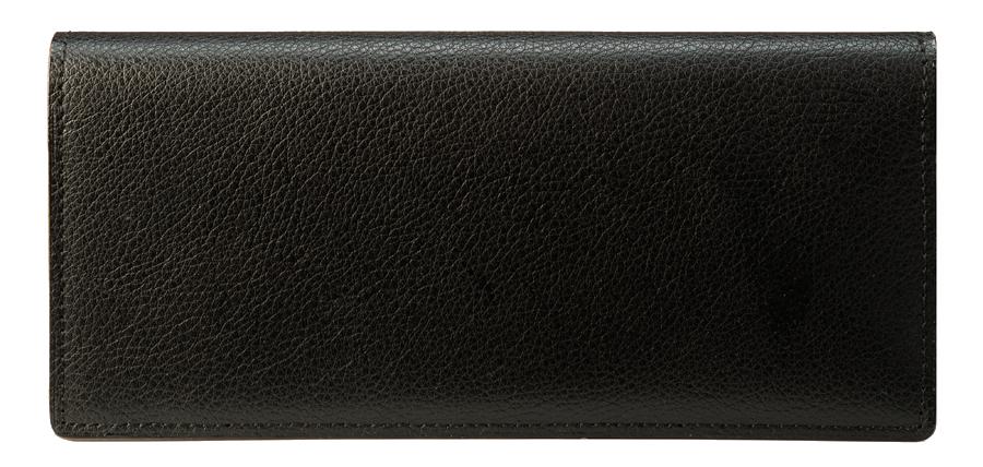 独特な細工を施した長財布。その重厚な存在感には、卓越した技術が集結している。