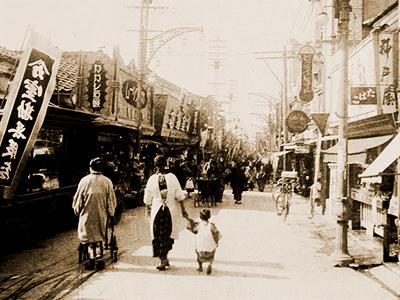 富山の繁華街が生まれ故郷